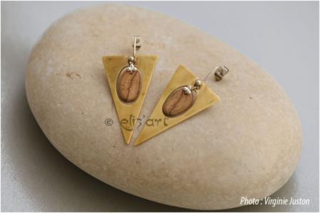 Boucles d'oreilles Nasali par eliz'art