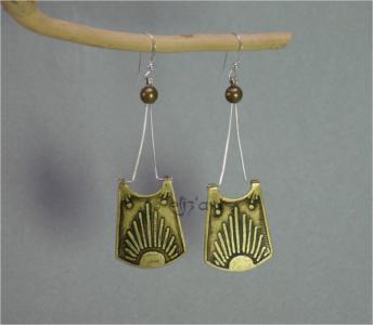 Boucles d'oreilles Intipo par Eliz'art