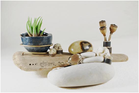 Galerie des compositions végétales, jardins zen par Eliz'art